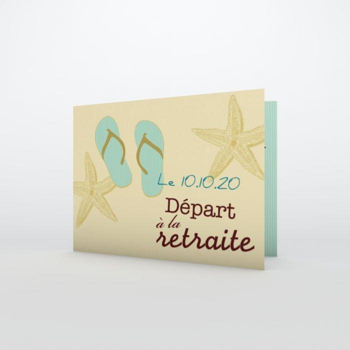 Carte D Invitation De Depart A La Retraite A Personnaliser Planet Cards