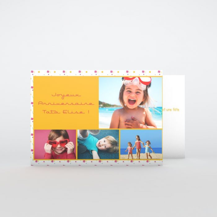 Carte D Anniversaire Personnalisee Planet Cards