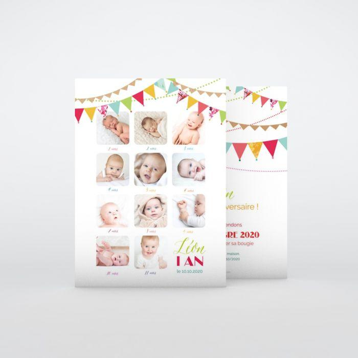 Carte D Invitation Anniversaire Enfant A Personnaliser Planet Cards