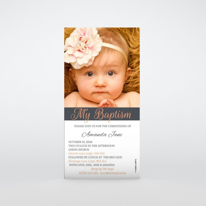 Christening Invitations Planet Cards Co Uk