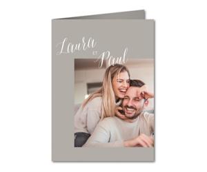 Faire part de mariage Amour et Bonheur
