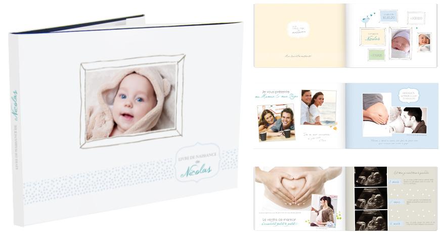 livre photo naissance