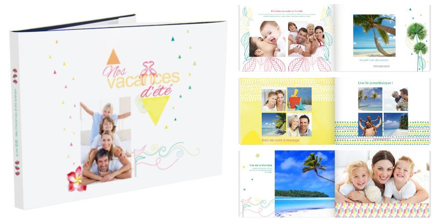 album photo vacances