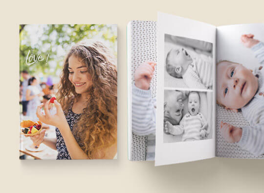 A4 portrait hardcover photobooks