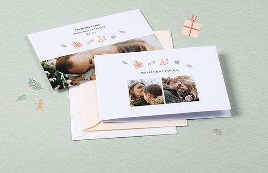 Cartes de vœux particuliers