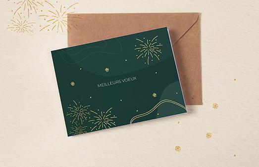 Cartes de vœux entreprises