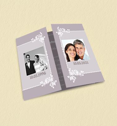 Einladungskarten Hochzeitsjubiläum