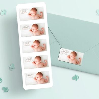 Étiquettes naissance
